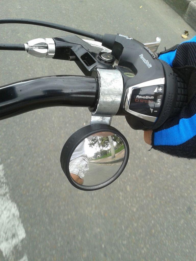Зеркала на велосипед своими руками 28