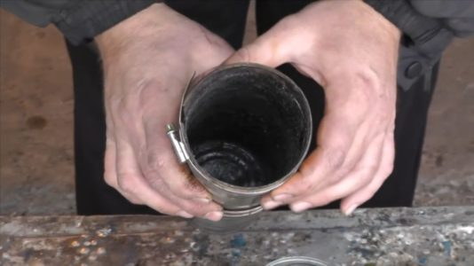 Процесс изготовления Коптильни холодного копчения шаг 2