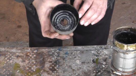 Процесс изготовления Коптильни холодного копчения шаг 3