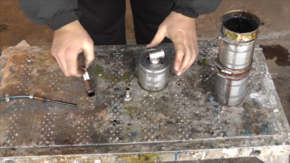Процесс изготовления коптильни холодного копчения шаг 6