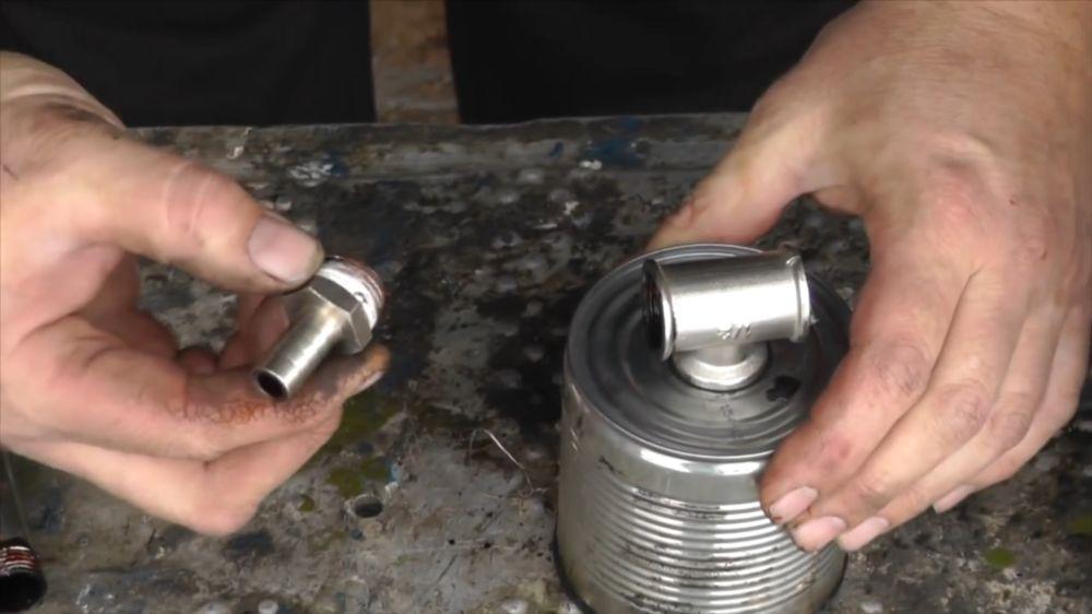 Процесс изготовления коптильни холодного копчения шаг 7