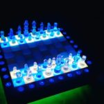 Завораживающие шахматы из эпоксидной смолы своими руками