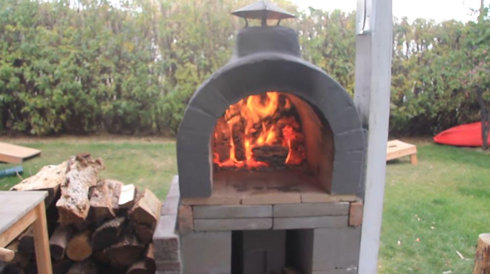 Печь для пиццы - общий вид