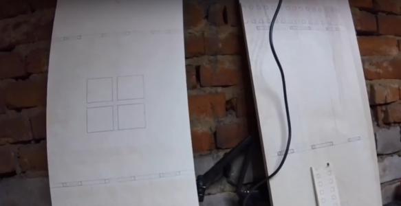 Процесс изготовления домика для барби шаг 1