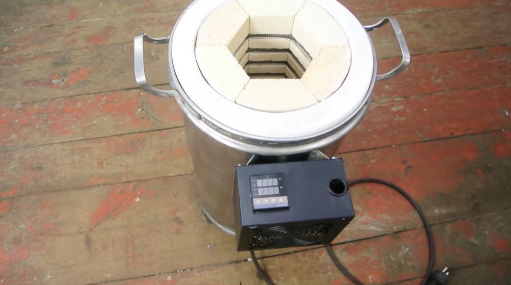 Готовая муфельная печь