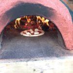 Небольшая итальянская печь для пиццы на дровах своими руками