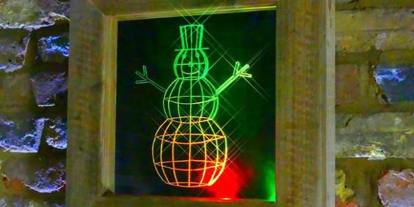 Картина со светодиодной подсветкой своими руками