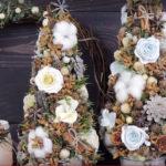 Декоративная эко елка своими руками