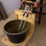 Практичная ручная бетономешалка своими руками