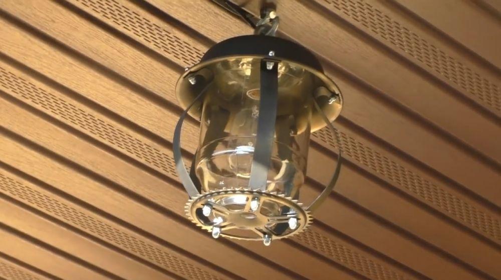 Ретро лампа шаг 1