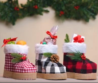Процесс изготовления новогоднего декора шаг 10