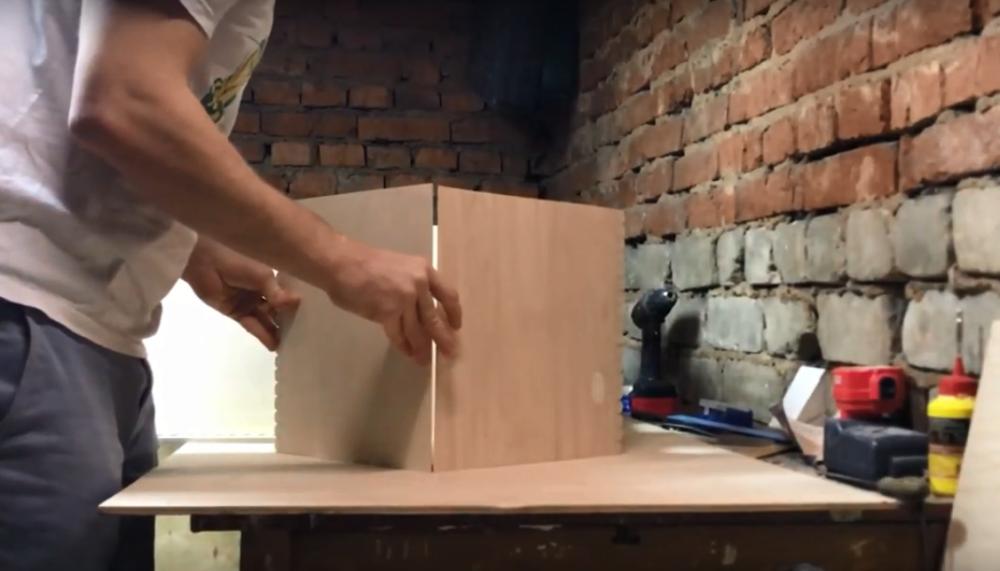 Процесс изготовления домика для барби шаг 10