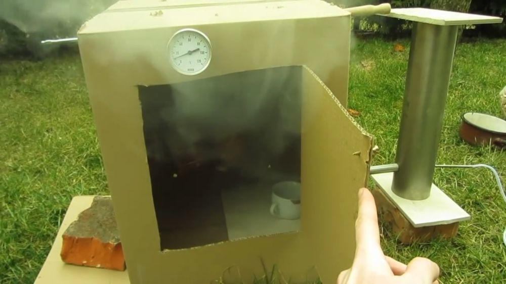 Процесс изготовления дымогенератора для холодного копчения шаг 9