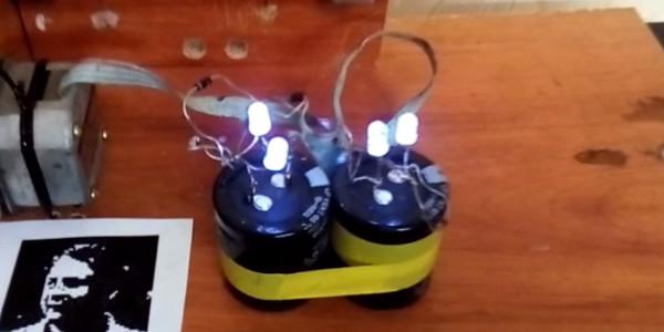 Электричество от бутылки