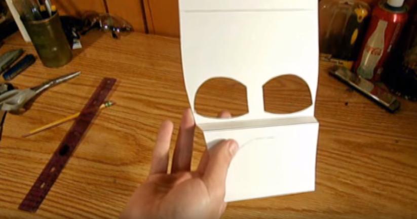 Процесс изготовления шлема дарта вейдера шаг 10