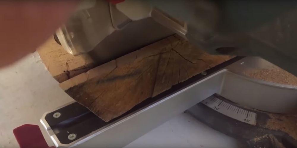Процесс изготовления журнального столика лофт шаг 10