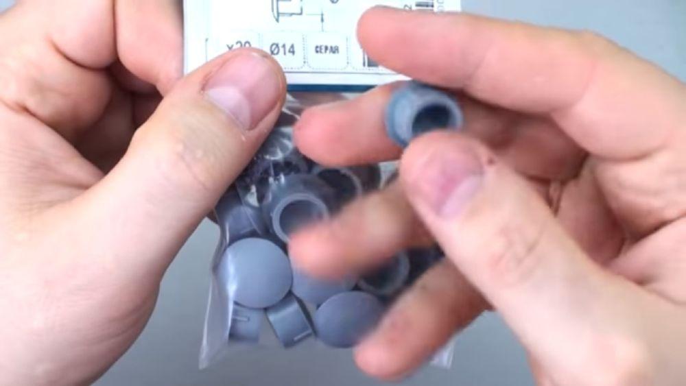 Процесс изготовления танка из картона шаг 10
