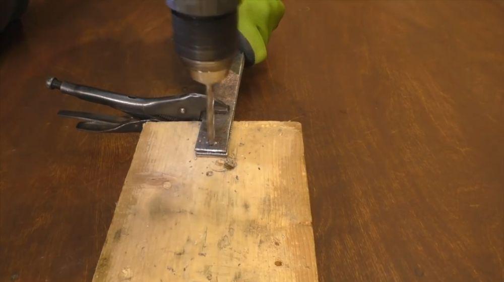 Процесс изготовления ретро лампы шаг 10