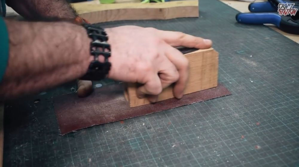 Процесс изготовления винтовки мондалорца шаг 10