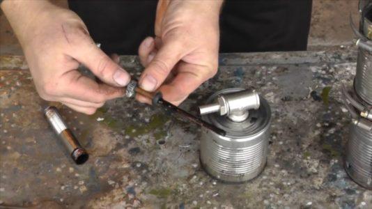 Процесс изготовления Коптильни холодного копчения шаг 9