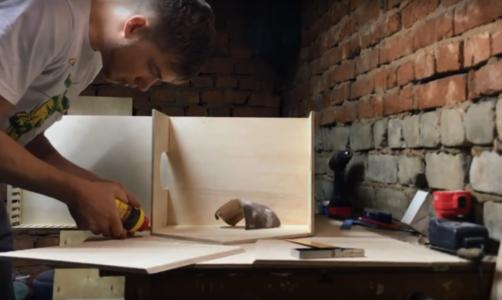 Процесс изготовления домика для барби шаг 11