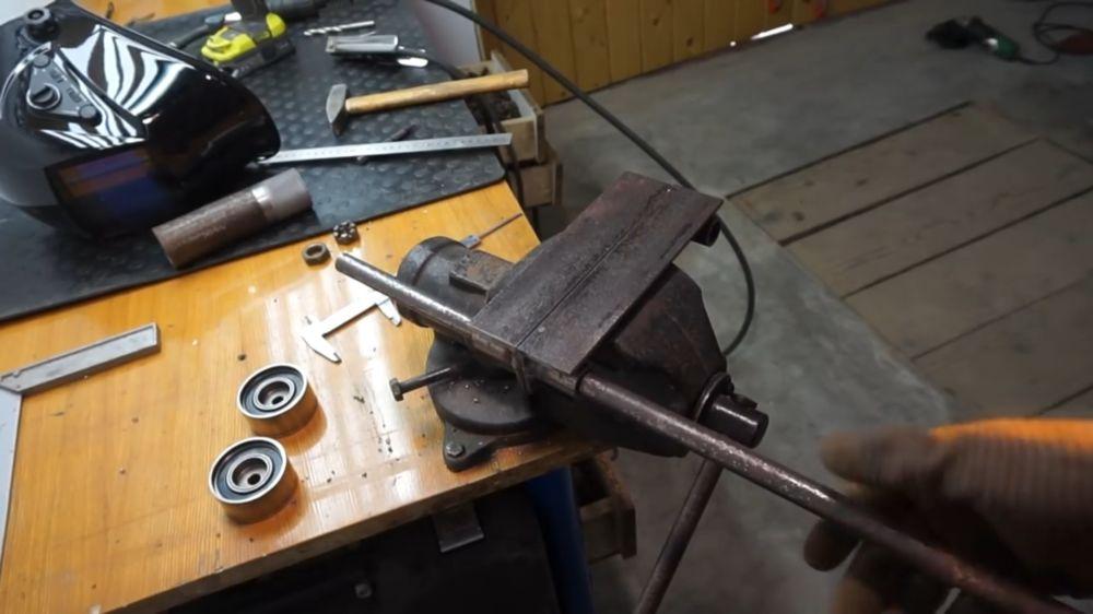 Процесс изготовления прокатного станка шаг 10