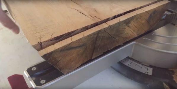 Процесс изготовления журнального столика лофт шаг 11