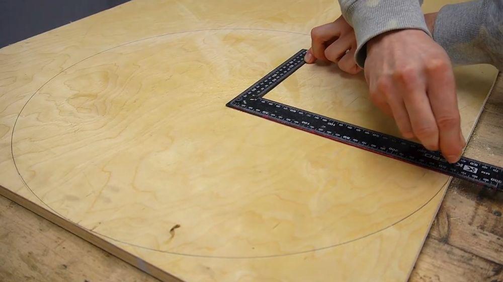 Процесс изготовления ручной бетономешалки шаг 11