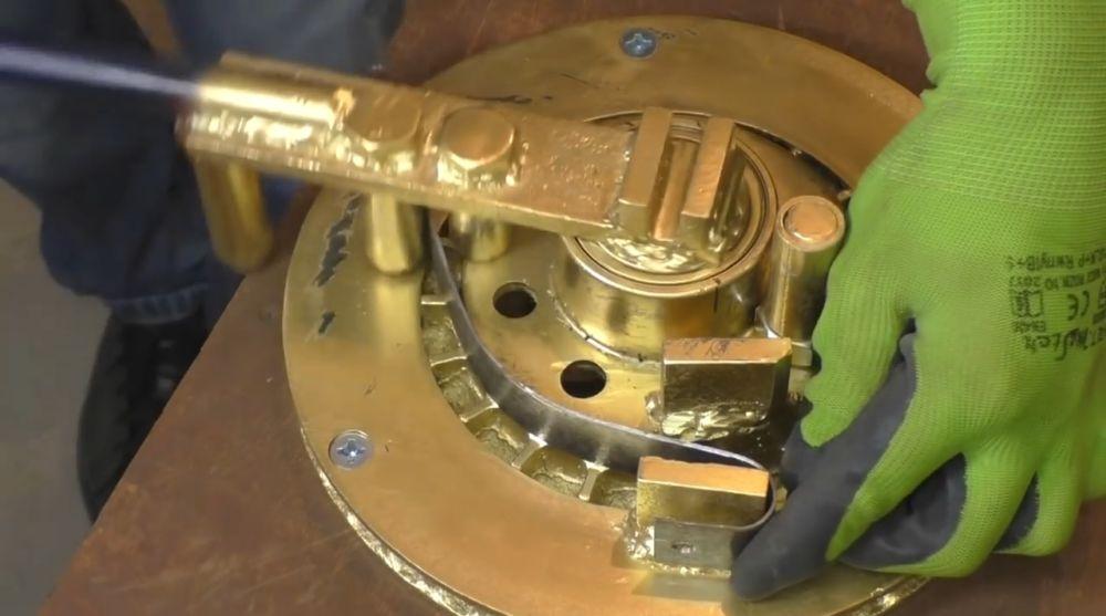 Процесс изготовления ретро лампы шаг 11