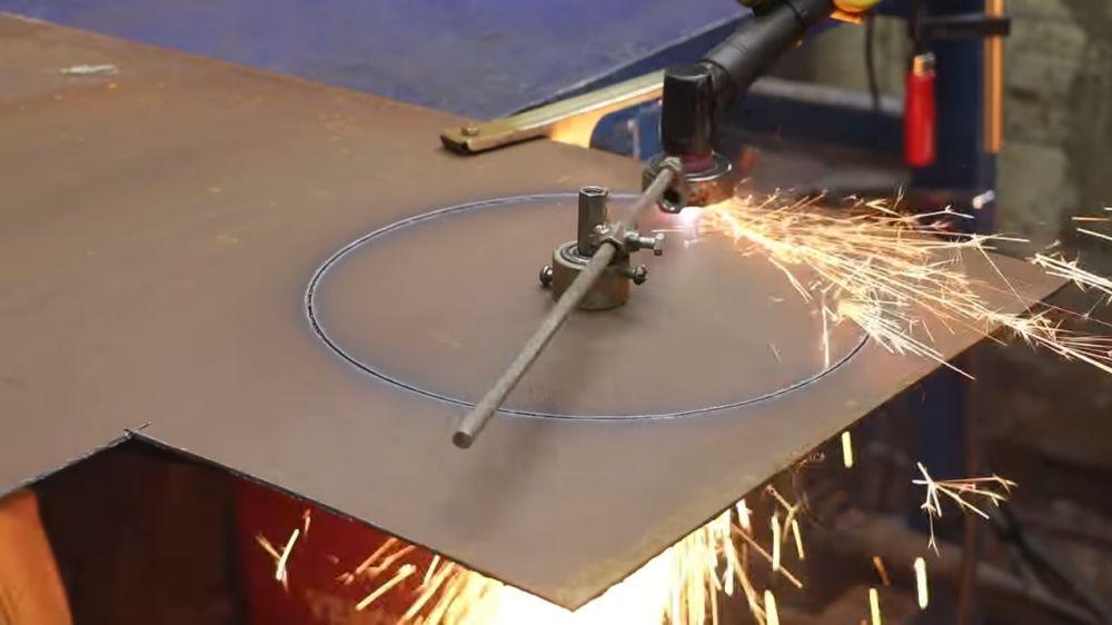 Процесс изготовления мангала гриля шаг 11