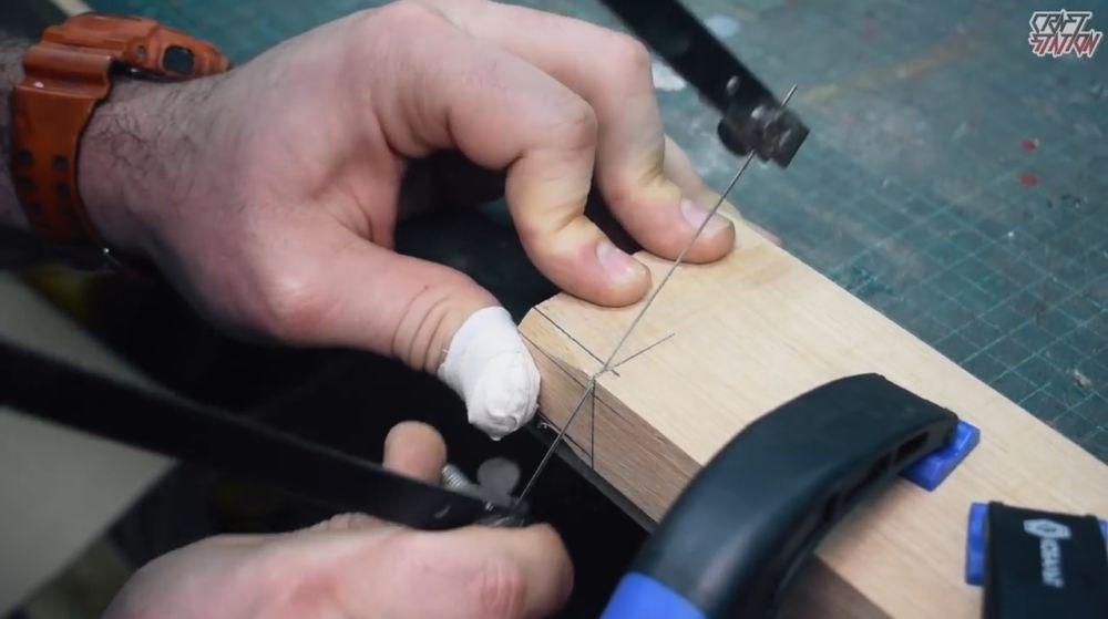 Процесс изготовления винтовки мондалорца шаг 11