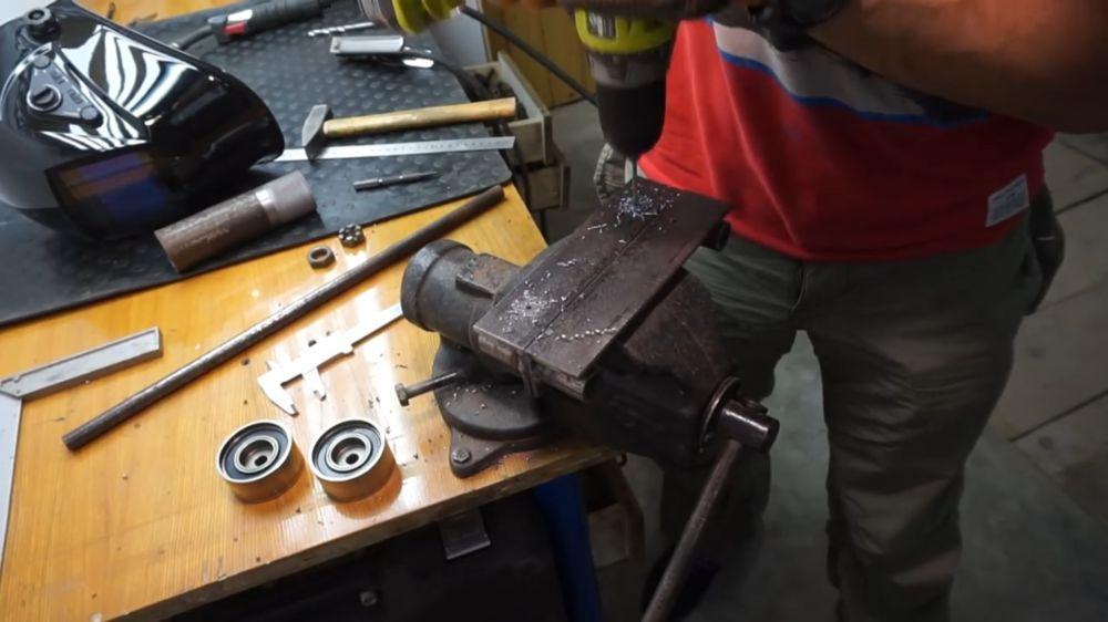 Процесс изготовления прокатного станка шаг 11