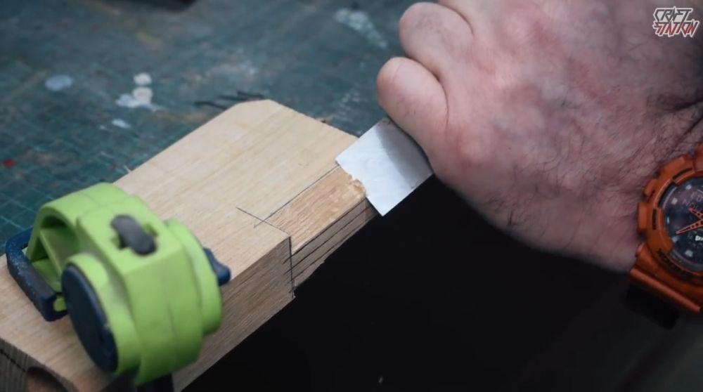 Процесс изготовления винтовки мондалорца шаг 12