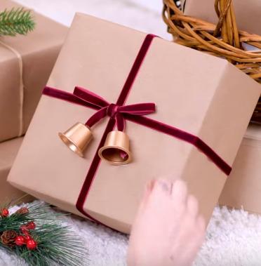 Процесс изготовления новогоднего декора шаг 13