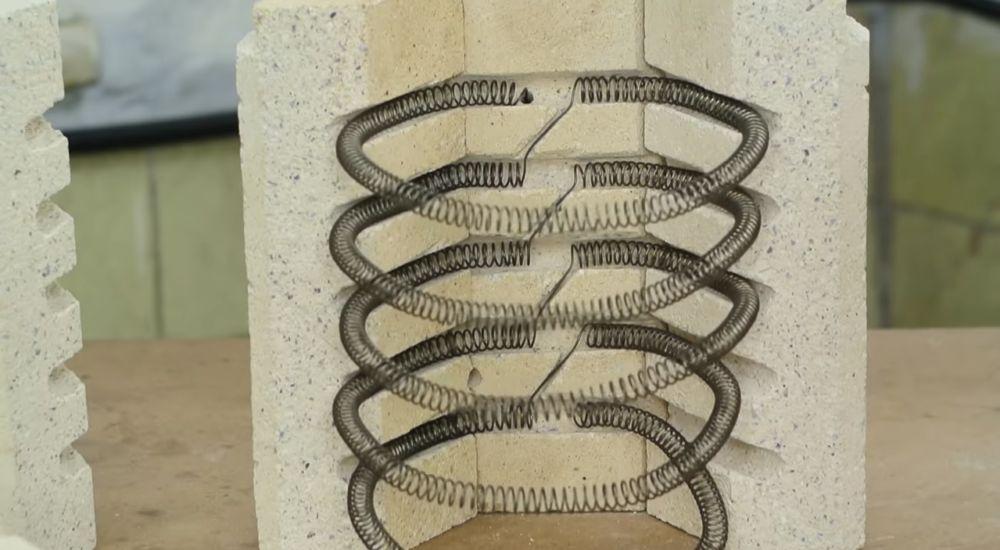 Спираль из фехрали