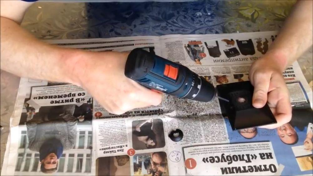 Процесс изготовления подводной камеры шаг 12