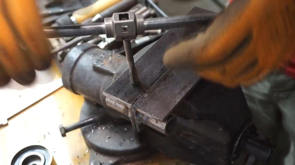 Процесс изготовления прокатного станка шаг 12