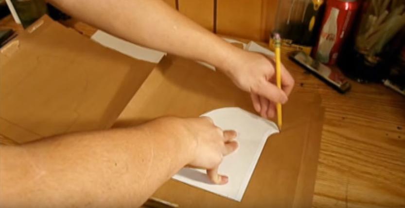 Процесс изготовления шлема дарта вейдера шаг 13