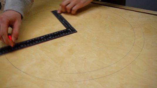 Процесс изготовления ручной бетономешалки шаг 13