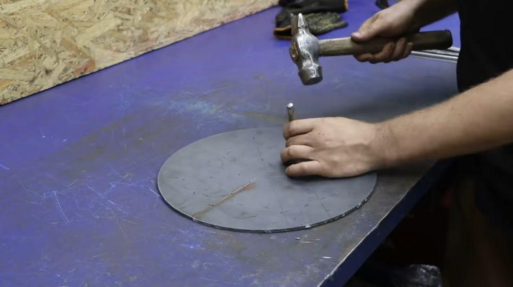 Процесс изготовления мангала гриля шаг 13