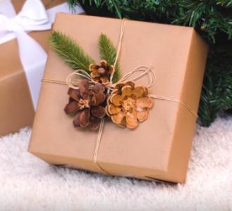 Процесс изготовления новогоднего декора шаг 14