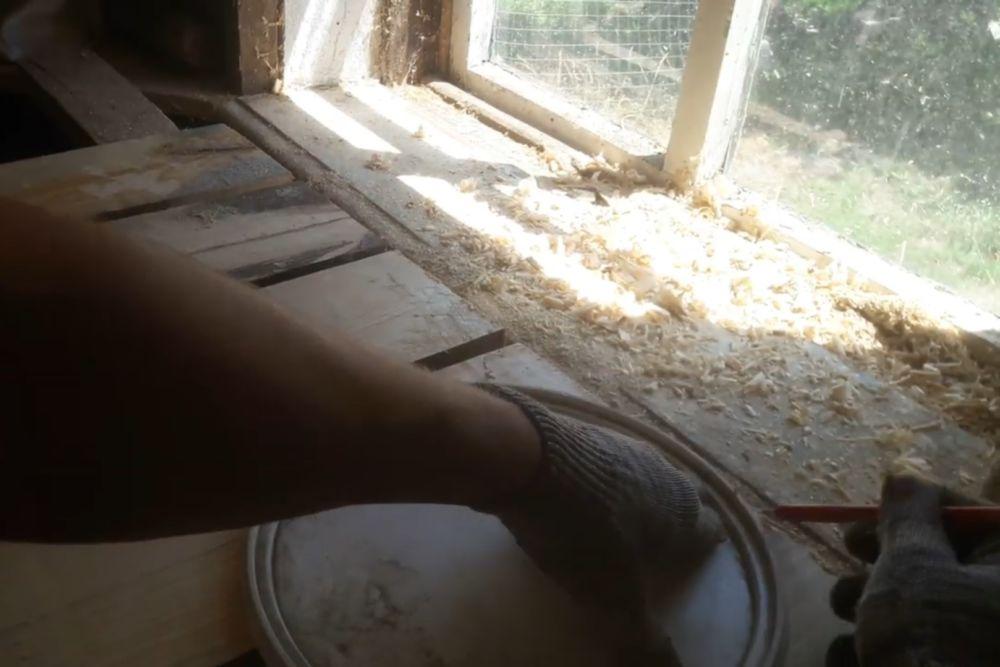 Процесс изготовления деревянного стола шаг 13
