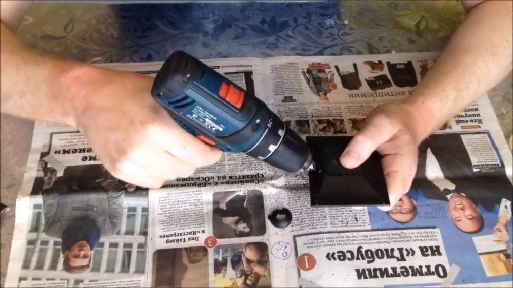 Процесс изготовления подводной камеры шаг 13