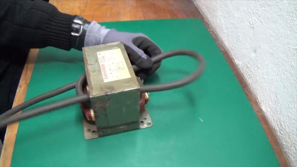 Процесс изготовления точечной сварки шаг 12