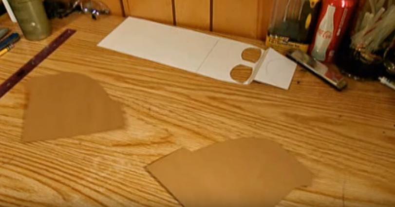 Процесс изготовления шлема дарта вейдера шаг 14