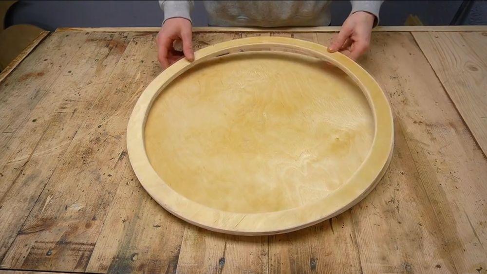 Процесс изготовления ручной бетономешалки шаг 14