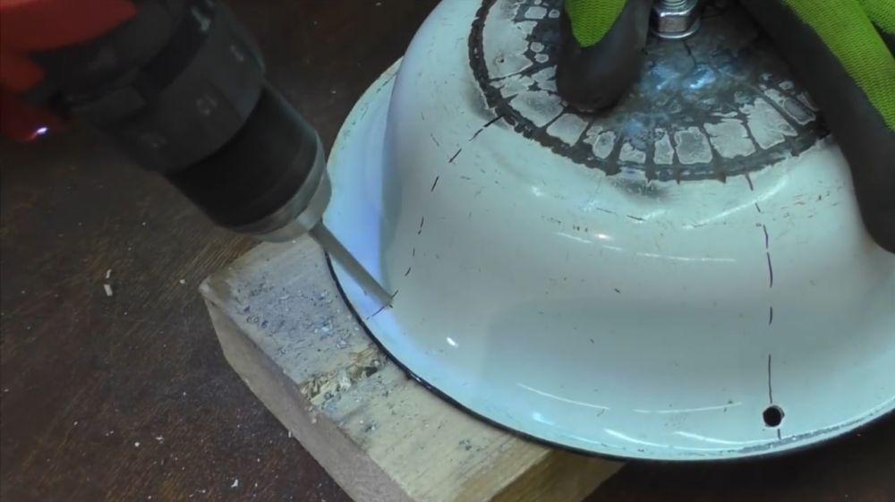 Процесс изготовления ретро лампы шаг 14