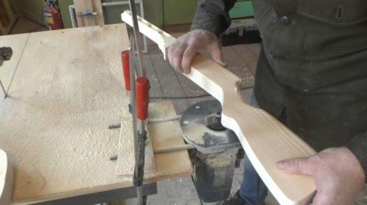 Процесс изготовления ппш из дерева шаг 14