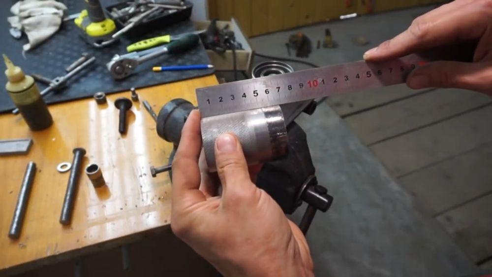 Процесс изготовления прокатного станка шаг 14