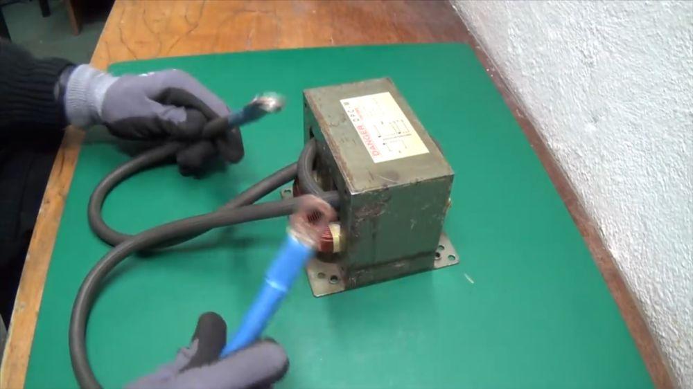 Процесс изготовления точечной сварки шаг 13